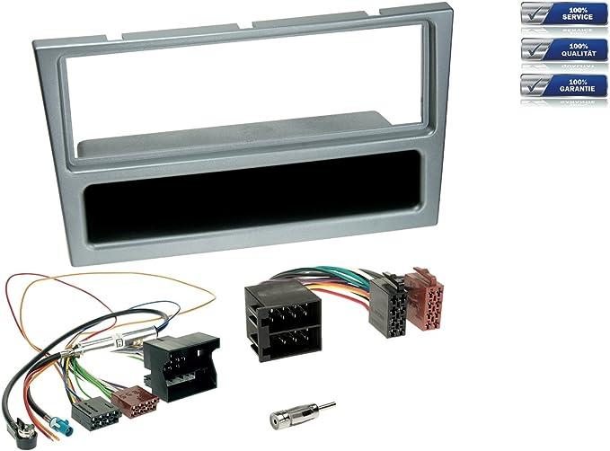 Kit de conversión de radio de coche para todos los Opel a partir de 2000 -MOST cable adaptador, cromo mate