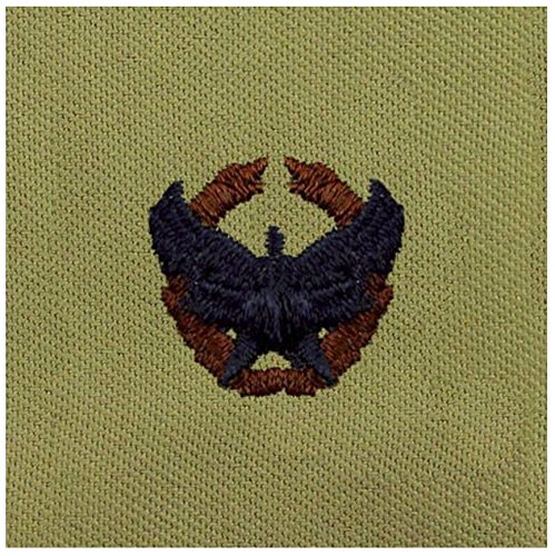 Vanguard AIR FORCE EMBROIDERED BADGE: COMMANDER'S BADGE - EMBROIDERED ON ABU - Abu Badge