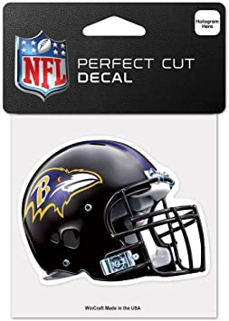 WinCraft NFL San Diego Chargers 95767010 Perfect Cut Color Decal Black 4 x 4