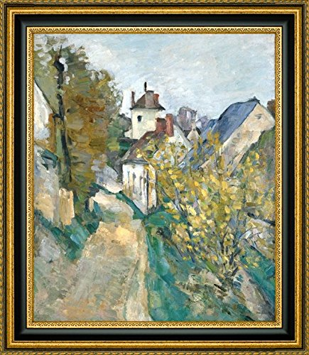 The House of Dr Gachet in Auvers-sur-Oise by Paul Cezanne - 9