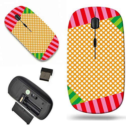 (Luxlady Wireless Mouse Travel 2.4G Wireless Mice with USB Receiver, 1000 DPI for notebook, pc, laptop, macdesign IMAGE ID: 34938761 Material wallpaper background polka dot polka dots dotted dot dot pa)