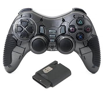 QUMOX 2.4GHz Controlador de juego inalámbrico Gamepad Mando para PC Windows