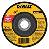 DEWALT DW4624 6-Inch by 1/4-Inch by 7/8-Inch General Purpose Metal Grinding Wheel (1-Pack)