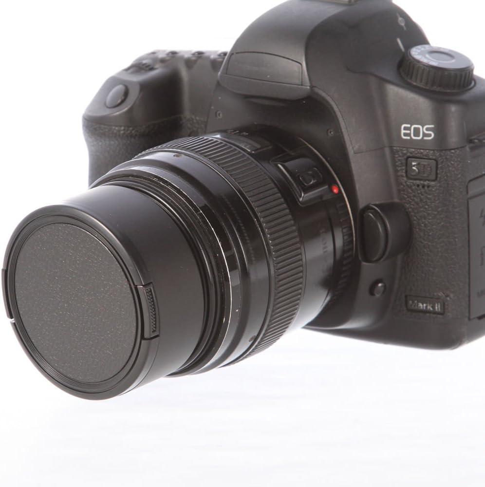 FOTGA 72mm Standard Metal Screw Mount Lens Hood for Canon Nikon Pentax Sony Olympus Fujifilm Leica Richo DSLR Camera Lens with 72 mm Thread
