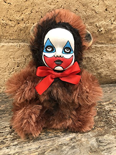 OOAK John Wayne Gacy Clown Teddy Bear Creepy Horror Doll Art Christie Creepydolls from Christie Creepy Dolls