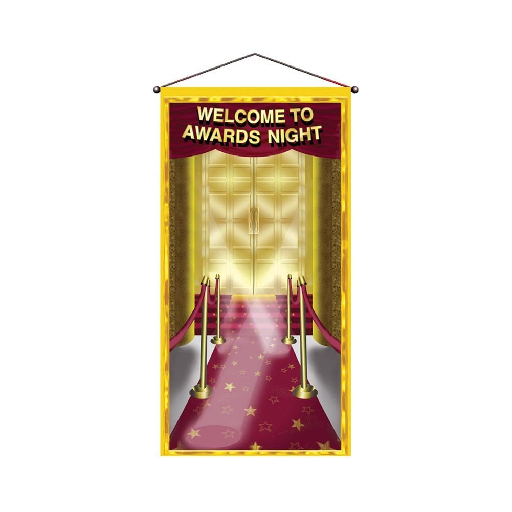 Movie Music Country Awards Ceremony TV Night Wall Door Banner