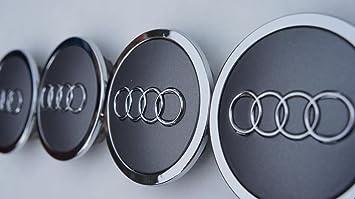 4x tapas de llanta, Audi, ...