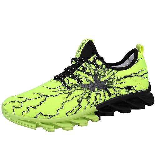 Logobeing Zapatos de Running Deportivas para Correr Hombre Ocio Aire Libre y Deporte Zapatillas Gimnasia Padel