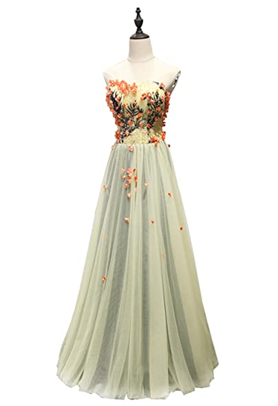 Annies Bridal Embroidered Evening Dresses For Women Formal Prom Dresses long 2017