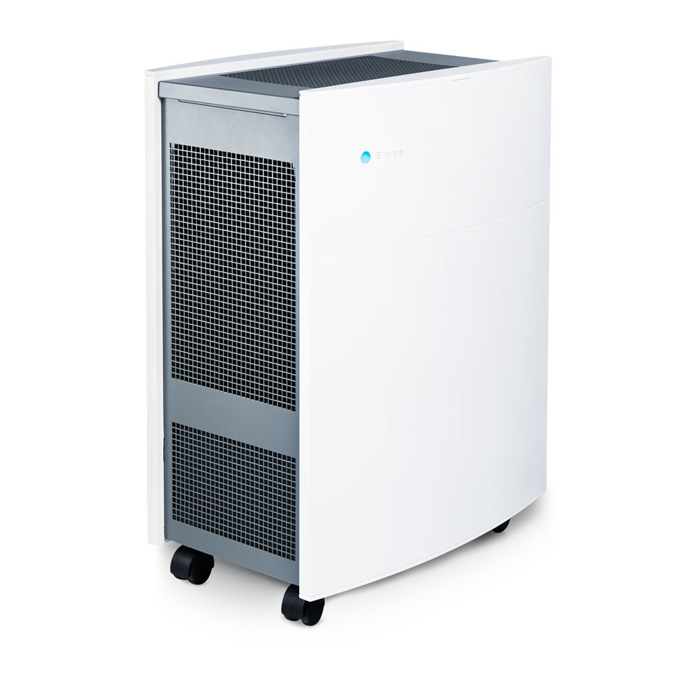 Blueair Classic 605 Air Purifier with HEPASilent Filtration for Allergen Reduction, Large Rooms 775 sq. ft. WiFi Enabled, ALEXA compatible