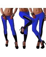 efe7f0b49047b Women's Tights Capri Leggings Pants of Side Black for Yoga Running Fitness  Gym Sports