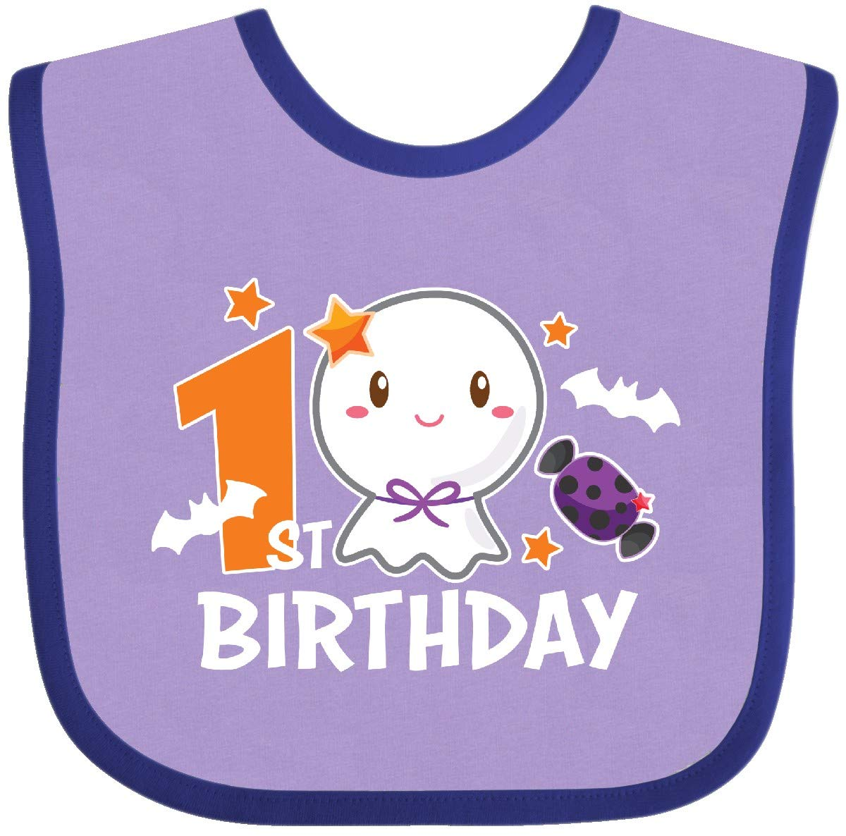 inktastic 1st Birthday with Cute Ghost with Bats Baby T-Shirt
