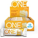 ONE Protein Bars, Lemon Cake, Gluten Free Protein Bars with 20g Protein and only 1g Sugar, Guilt-Free Snacking for High…