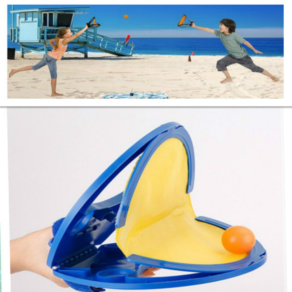 Enshey Paddles & Ball Outdoor and Beach Game,Coolest New Toy for Boys, Girls, Kids & Family