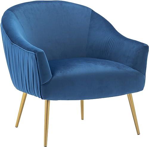 Wahson Mid Century Modern Velvet Armchair