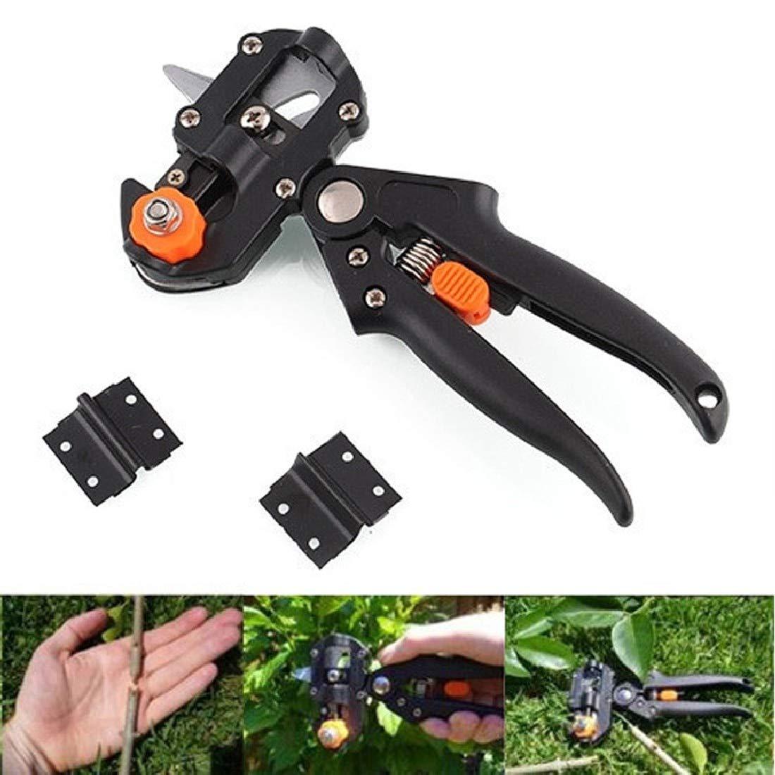 Pro Garden Fruit Tree Pruning Shears Scissor Grafting Cutting Tool w//2 Blade Set