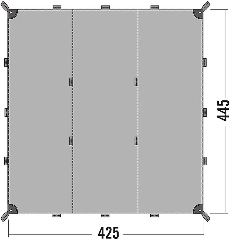 Tatonka Tarp 1 Simple - 425x445cm - Zeltplane