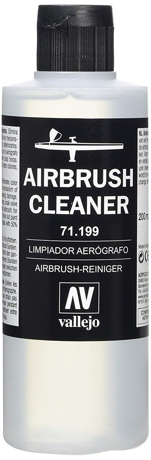 Airbrush Cleaner 200ml Bottle Vallejo