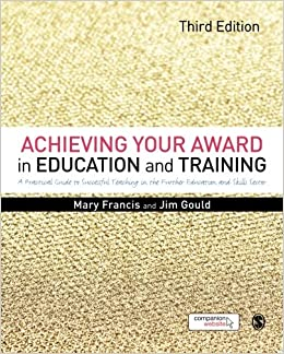 ce017394cf52 Achieving Your Award in Education and Training  Amazon.co.uk  Mary Francis