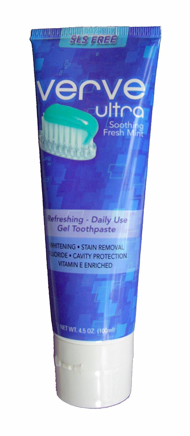 Verve Ultra SLS-Free Toothpaste with Fluoride, 4.5 oz.