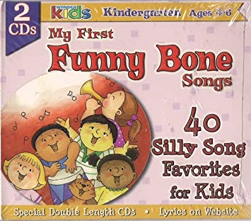 Wonder Kids - My First Funny Bone Songs: 40 Silly Song
