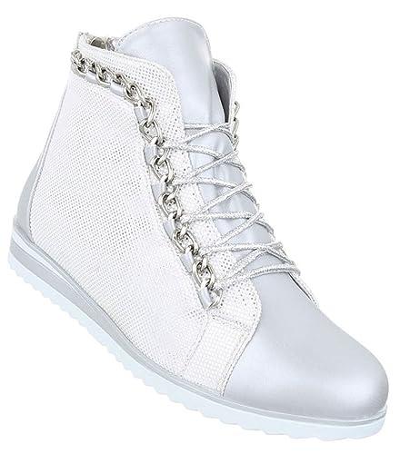 Schuhcity24 Damen Sneakers Keilabsatz | Sneaker Wedges