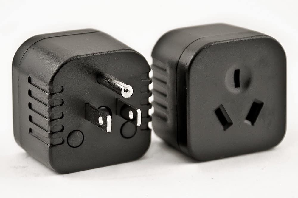 PG-28 Australia, New Zealand, China Plugs to USA/Canada Outlet Plug Adapter (Australia to USA/Type I)