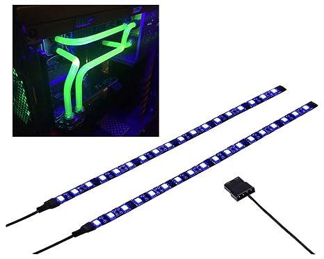 Amazon.com: Caja de PC LED, Morado, 12.00watts, 12.00 volts ...