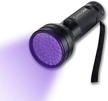395nm 51 LED UV Flashlight Torch Blacklight Pet Urine Detector For Dog//Cat