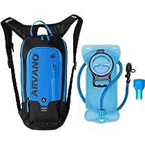 6L Mini Bicicleta mochila impermeable, paquete de hidratación con mochila 2L bolsa de agua bicicleta ...