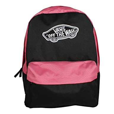 263e2705e9e Amazon.com: VANS Realm Backpack Black Desert Rose Schoolbag VN0A3UI6YGI Vans  bags: Clothing
