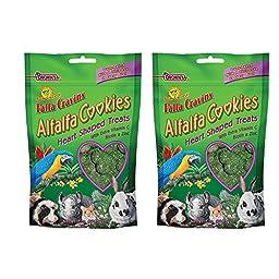 F.M. Brown\'s Falfa Cravins Heart-Shaped Alfalfa Cookies, 7-Ounce (2 Pack)