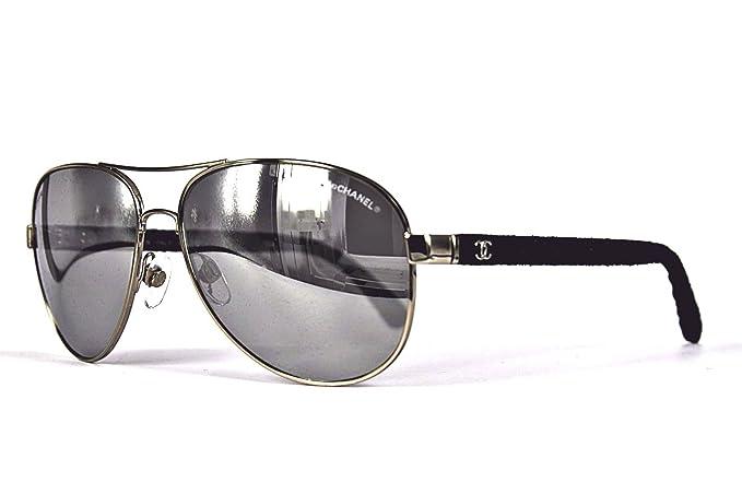 Chanel - Gafas de sol - para hombre Gris gris: Amazon.es ...
