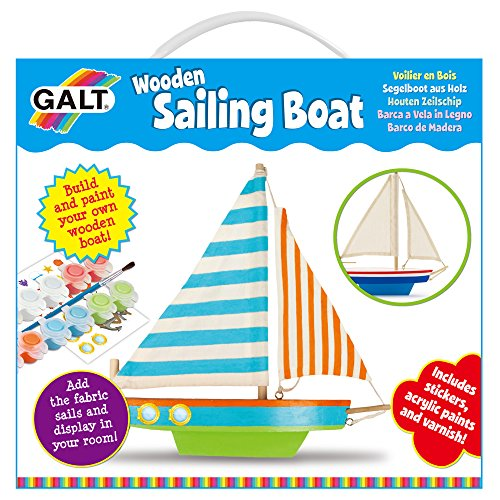 Galt Toys, Wooden Sailing -