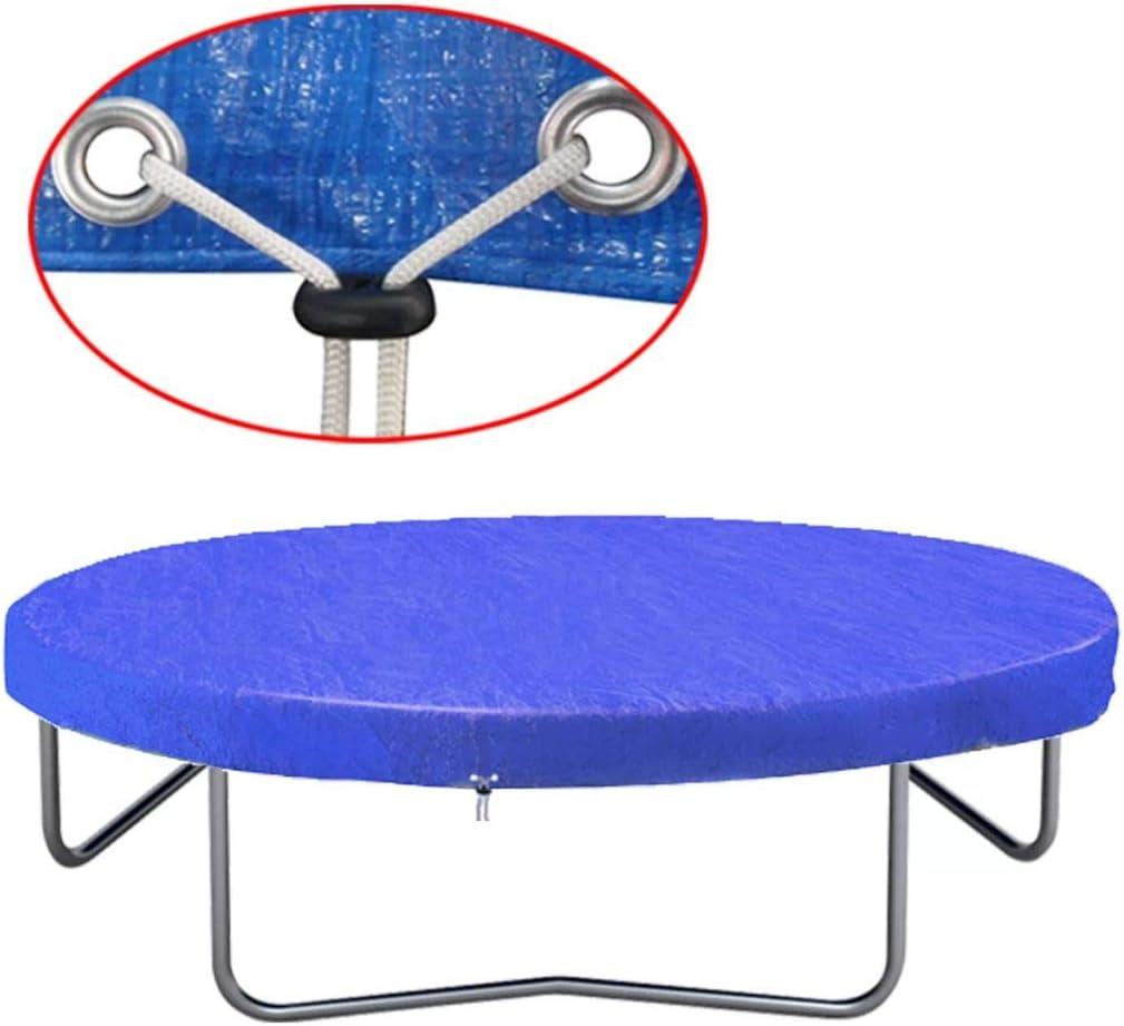 Tidyard Housse de Trampoline PE Prot/éger Trampoline du Soleil Pluie et Neige 300 cm 90 g//m/²