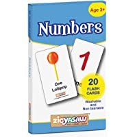 Zigyasaw English Numbers Flash Cards