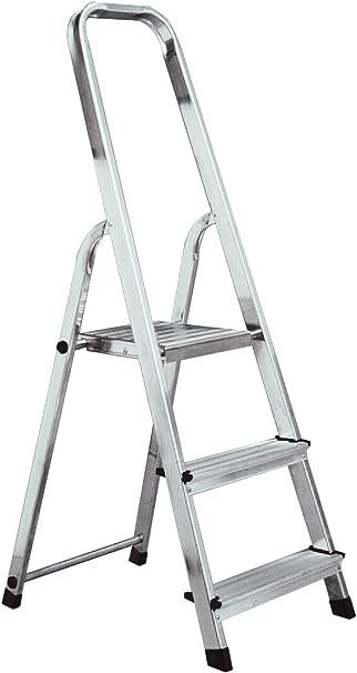 Pie de jefes de doble escala multiusos maco import Krause o escalera 3 peldaños A3: Amazon.es: Bricolaje y herramientas