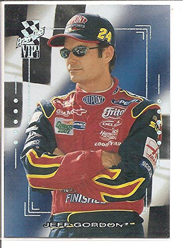 Jeff Gordon 2001 Press Pass VIP NASCAR Racing Card #X21