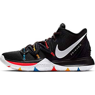 5ac3f821ddb9c Nike Kyrie 5 Mens Sneakers AO2918-006, Black/White/Bright Crimson