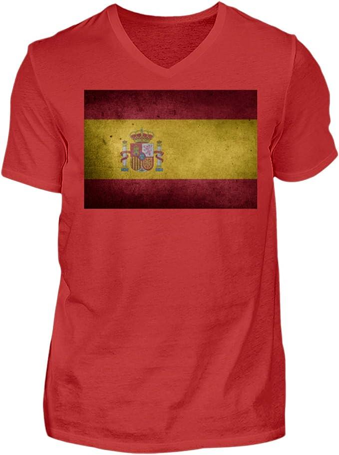 Camiseta de Manga Corta para Hombre, diseño de España con la ...