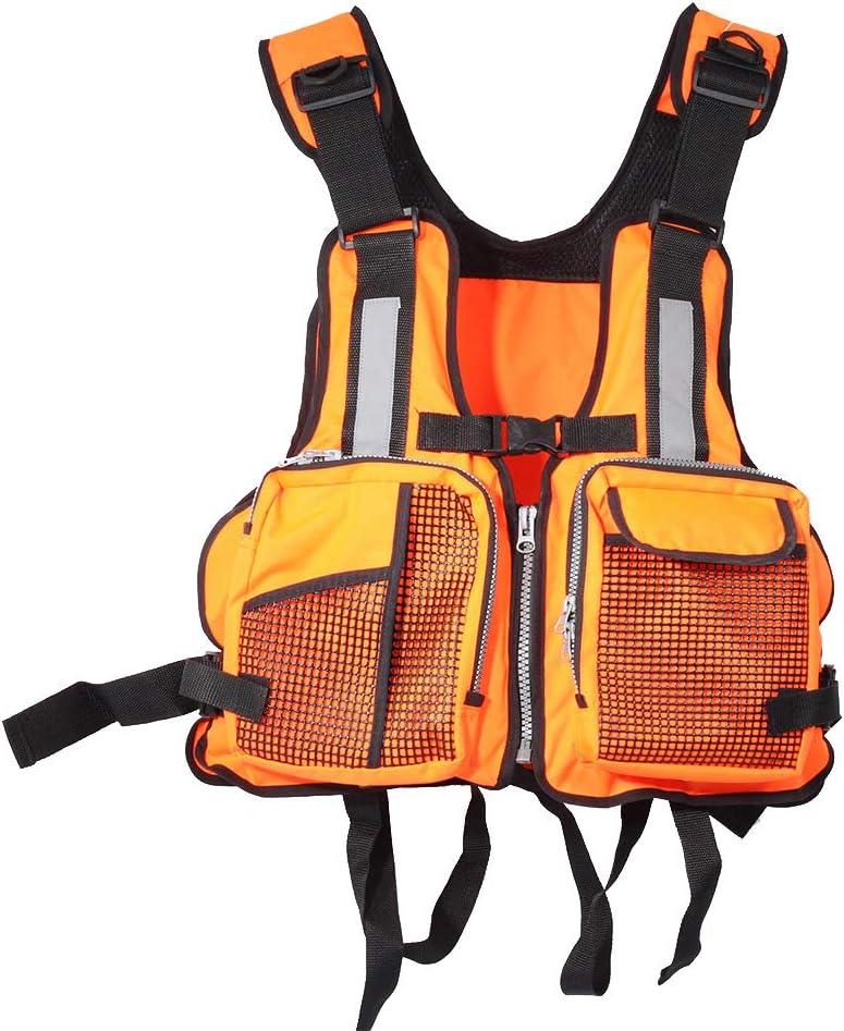 Life Jacket Kayak Canoe Boat Swimming Fishing Vest Buoyancy Aids