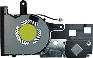 Power4Laptops Replacement Laptop Fan with Heatsink for Dell Inspiron 14 3451, Dell Inspiron 14 3452, Dell Inspiron 15 3551, Dell Inspiron 15 3552, Dell Inspiron 3451