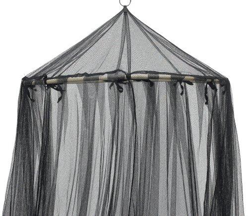 sc 1 st  Amazon.com & Amazon.com - Fantasy Round Hoop Bed Canopy Black -