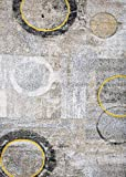 209 Modern Gray 8×10 Area Rug Carpet Large New Review