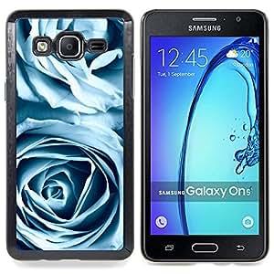 SKCASE Center / Funda Carcasa protectora - Rosas azules;;;;;;;; - Samsung Galaxy On5 O5