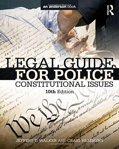 Legal Guide for Police: Constitutional Issues cover
