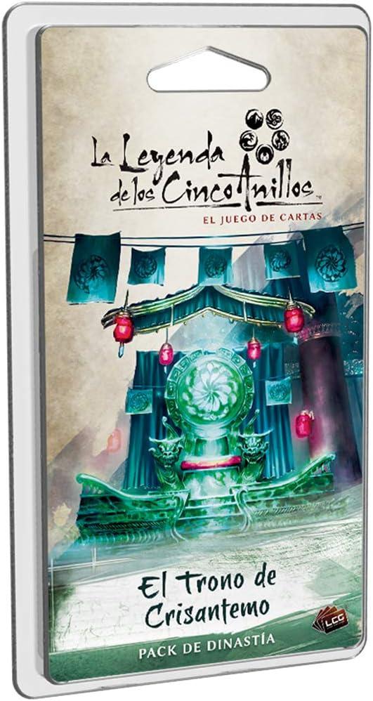 Fantasy Flight Games-La Leyenda de los Cinco Anillos: El trono de Crisantemo-Español, color (Dungeons y Dados FFL5C05) , color/modelo surtido