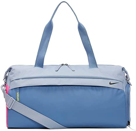 Amazon.com: New Nike Radiate Club Training Bag Duffel Indigo ...