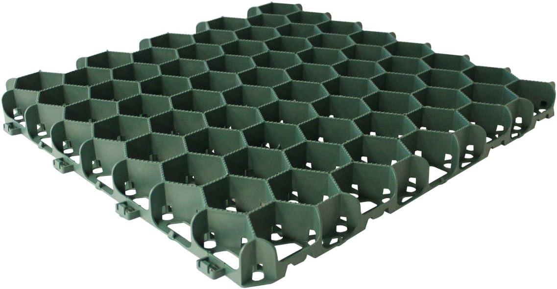 Suregreen 5m Car Park Driveway Gravel Grids Plastic Porous Paving 20 Grids 5sqm Easy Install Ground Reinforcement Tiles Amazon Co Uk Garden Outdoors