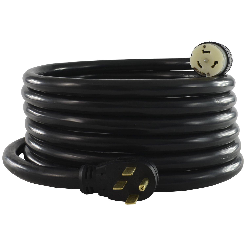 Conntek 1450SS2-25 1450SS2-15 15-Foot Temp Power Generator Cord, Feet, Elbow Plug by Conntek